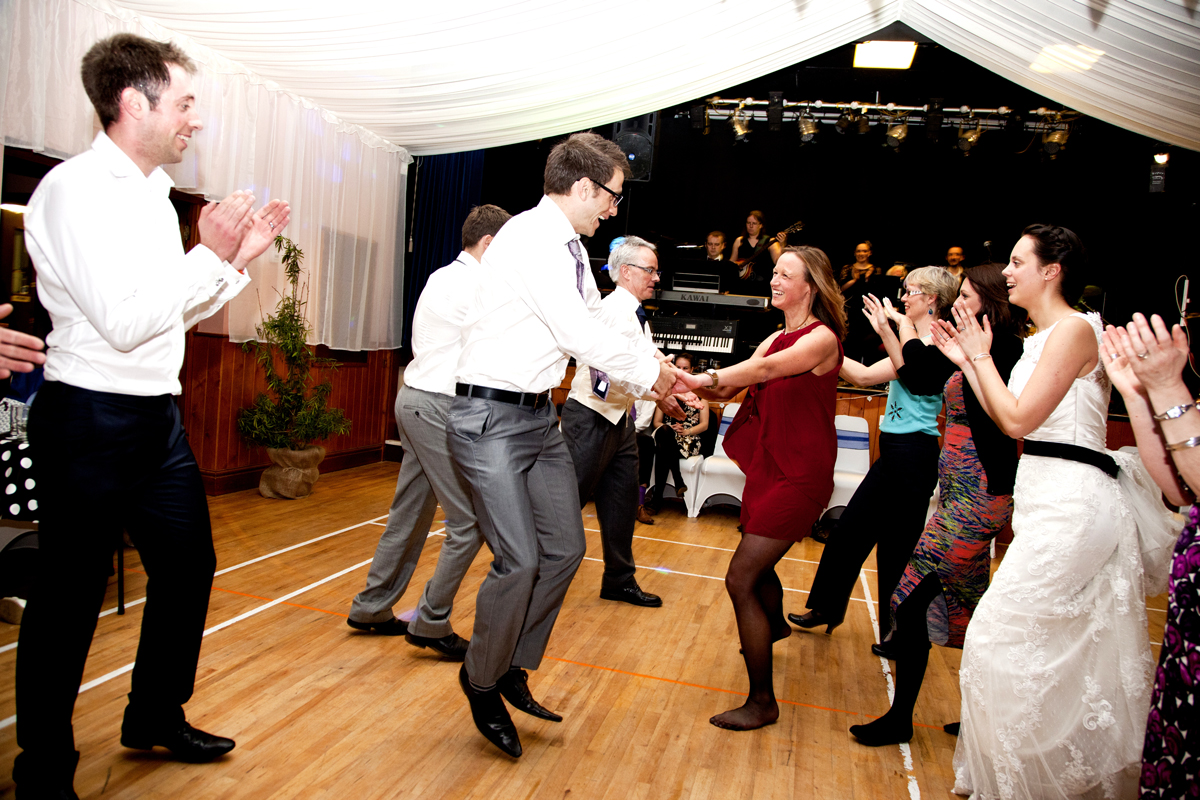 Ceilidh Knights Band at Mickleton Hall